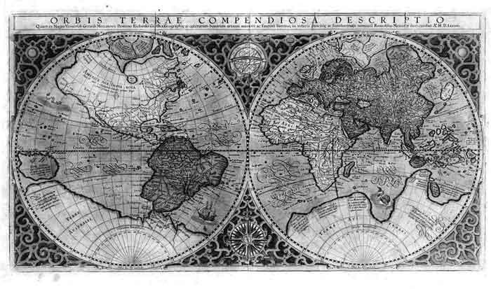 Менее известные старинные карты, содержащие Гиперборею.
